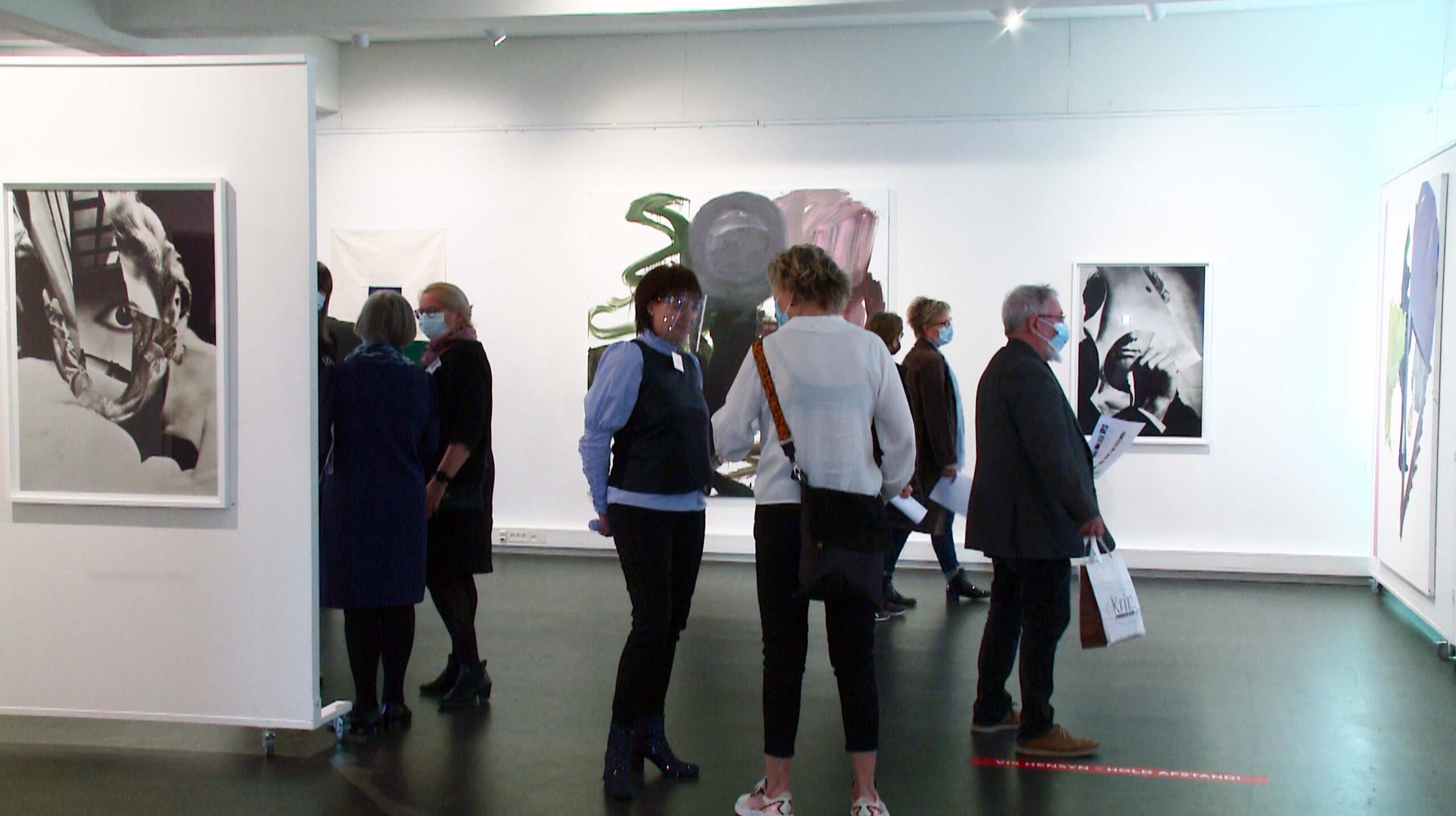 Så er der kunstudstilling igen - DanmarkC TV